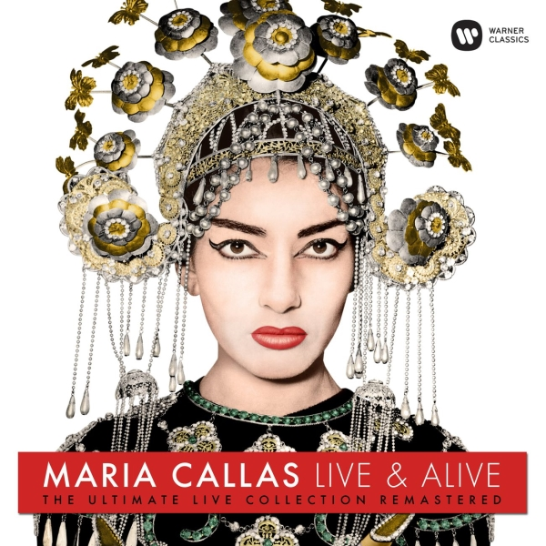 Виниловая пластинка Warner Music Classic Maria Callas:Maria Callas: Live And Alive фото