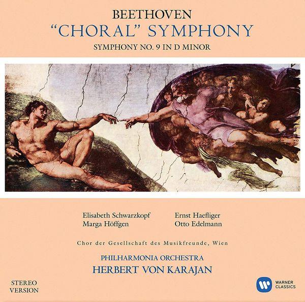 Виниловая пластинка Warner Music Classic Herbert Von Karajan:Beethoven:Symphony No9 Choral фото