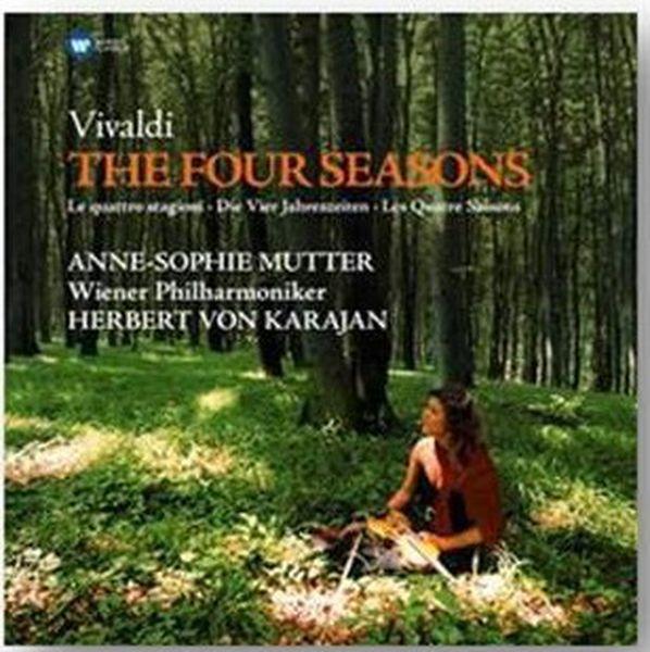 Виниловая пластинка Warner Music Classic Mutter/Karajan/Wiener Phil:Vivaldi:TheFourSeasons фото