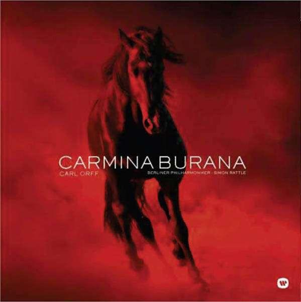 Виниловая пластинка Warner Music Classic Rattle:Orff - Carmina Burana