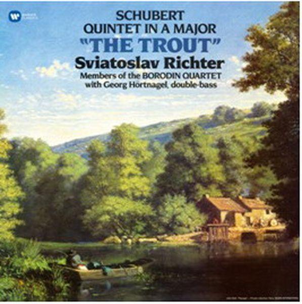 Виниловая пластинка Warner Music Classic Sviatoslav Richter:Schubert:PianoQuintetThe Trout фото