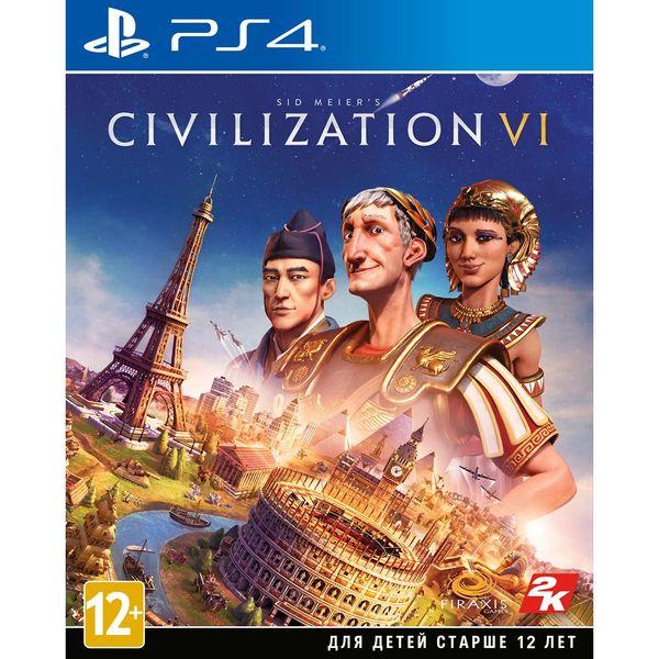 PS4 игра Take-Two Sid Meier's Civilization VI