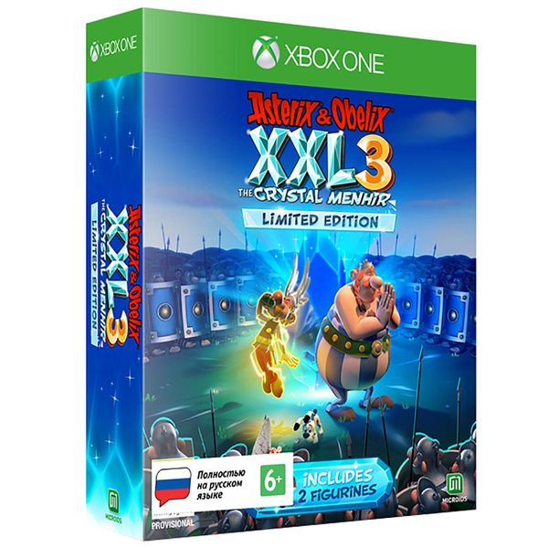 Xbox One игра Microids Asterix&Obelix XXL 3 The Crystal Menhir Limited фото