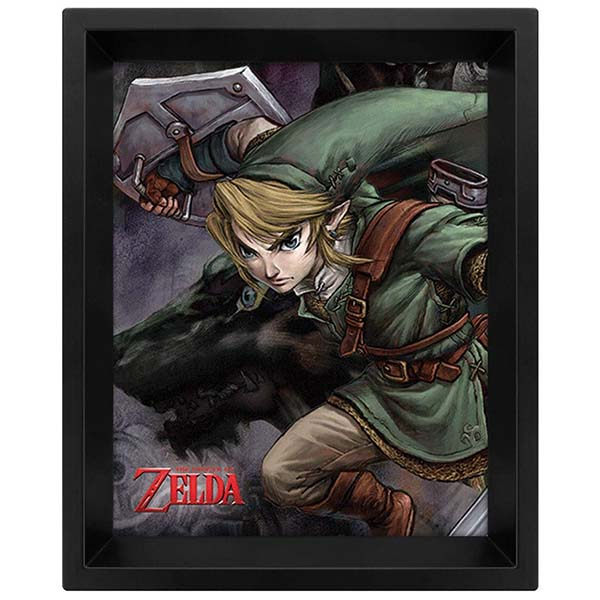 Сувенир Pyramid 3D постер The Legend Of Zelda: Twilight Princess