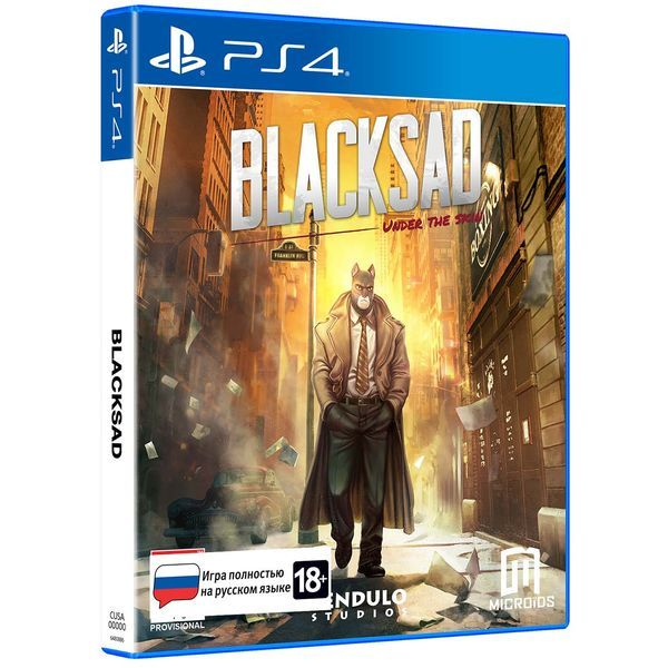 PS4 игра Microids Blacksad: Under The Skin Limited Edition фото