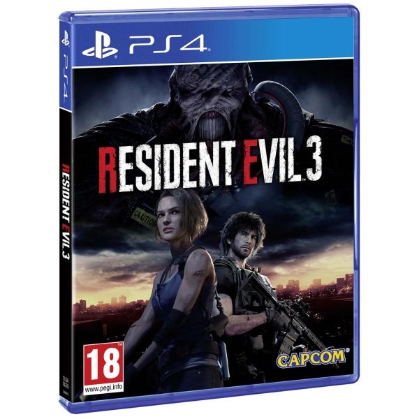 PS4 игра Capcom Resident Evil 3