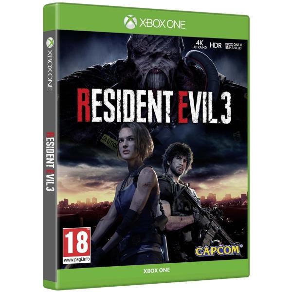 Xbox One игра Capcom Resident Evil 3 фото