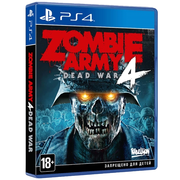 PS4 игра Sold Out Zombie Army 4: Dead War