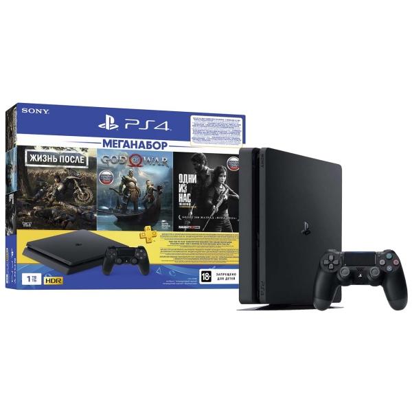 Купить Игровая консоль PS4 PlayStation 4 1TB DG/GOW/TLOU/PS Plus 3мес. в каталоге интернет магазина М.Видео по выгодной цене с доставкой, отзывы, фотографии - Темрюк