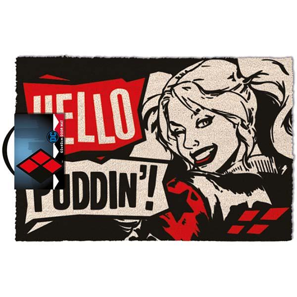Придверный коврик Pyramid Harley Quinn: Hello Puddin фото