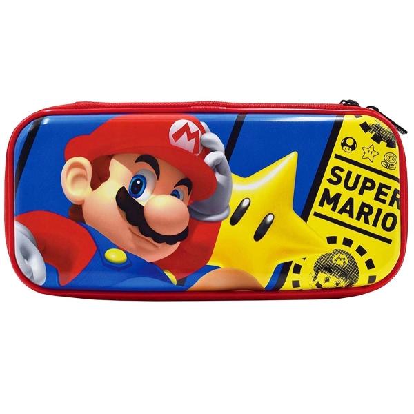 Чехол Hori Premium Vault Case Mario (NSW-161U) красного цвета