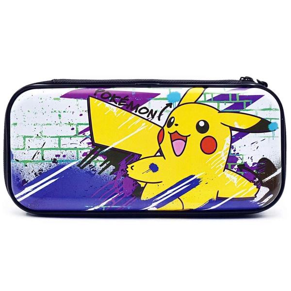 Аксессуар для игровой приставки Hori — Premium Vault Case Pikachu (NSW-163U)