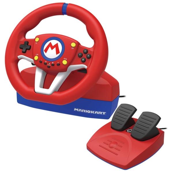 Аксессуар для игровой приставки Hori — Mario Kart Racing Wheel Pro (NSW-204U)