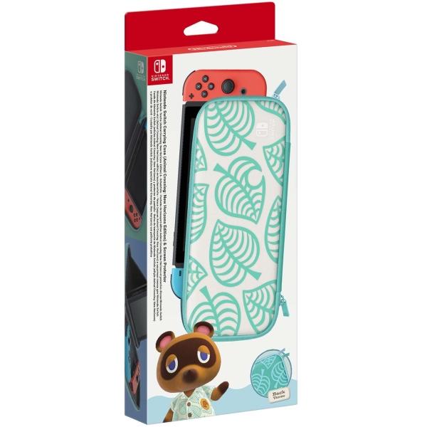 Аксессуар для игровой приставки Nintendo — Чехол и пленка Animal Crossing New Horizons