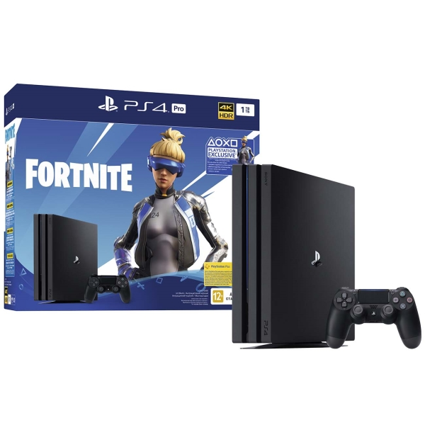 Игровая консоль PlayStation 4 Pro 1TB+Fortnite