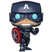 Funko POP! Bobble: Avengers Game: Captain