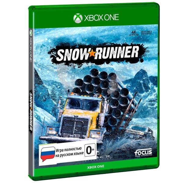 Xbox One игра Focus Home SnowRunner Стандартное издание