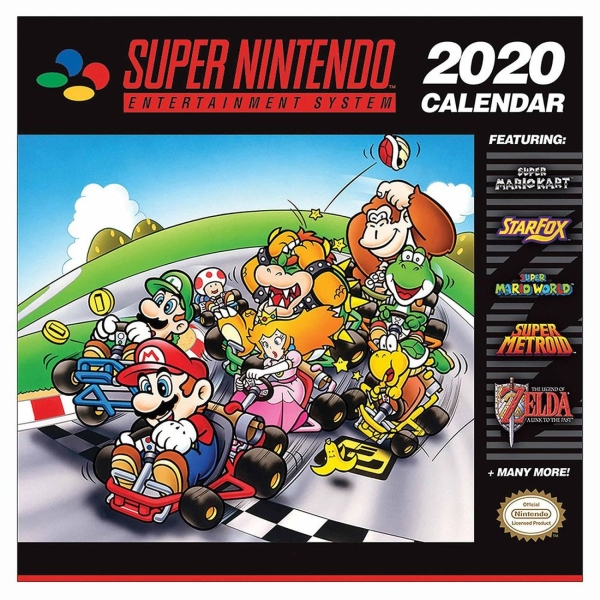 Сувенир Pyramid — Календарь Super Nintendo (2020)