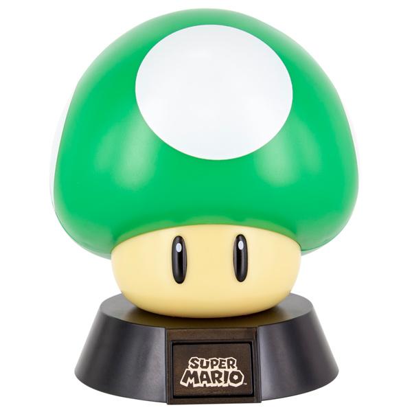 Светильник геймерский Paladone Светильник Nintendo 1Up Mushroom Icon Light светильник paladone batman eclipse light pp4340bmv2