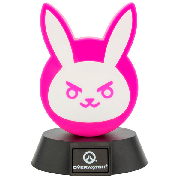 Сувенир Paladone Светильник Overwatch D.Va Bunny Icon Light