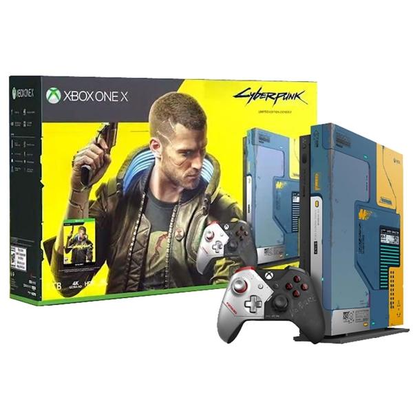 Игровая консоль Xbox One Microsoft X 1TB + Cyberpunk 2077