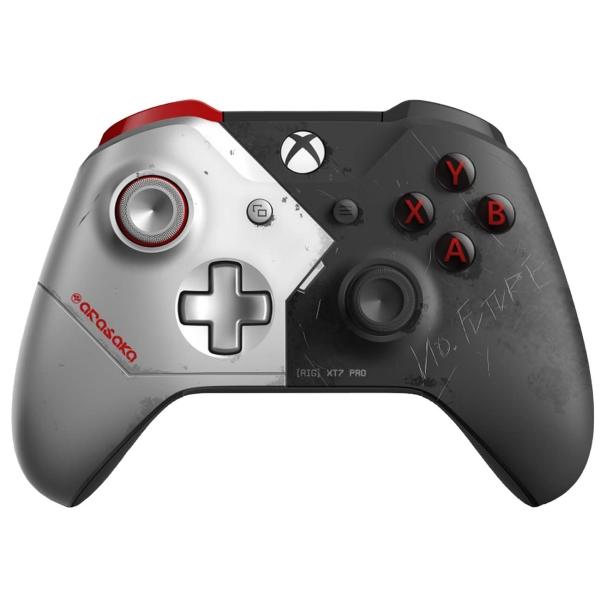 Геймпад для консоли Xbox One Microsoft Cyberpunk LE (WL3-00142)