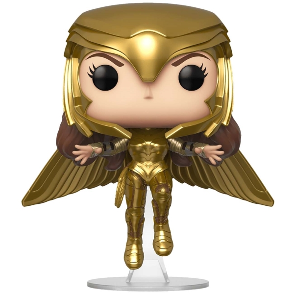 Фигурка Funko POP! WW 84: Wonder Woman Gold Flying Pose фото