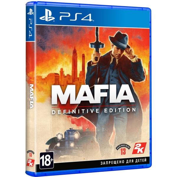 PS4 игра Take-Two Mafia: Definitive Edition