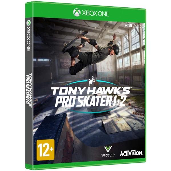 Xbox One игра Activision Tony Hawk's Pro Skater 1+2