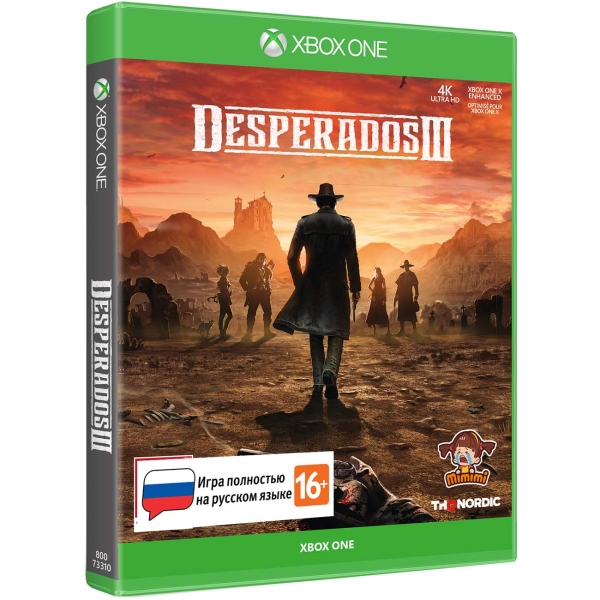 Xbox One игра THQ Nordic Desperados III Стандартное издание фото