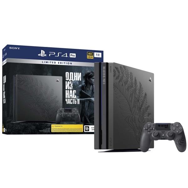 Игровая консоль PlayStation — Pro 1TB в стиле Одни из нас: Часть 2 + игра (CUH-7208B)