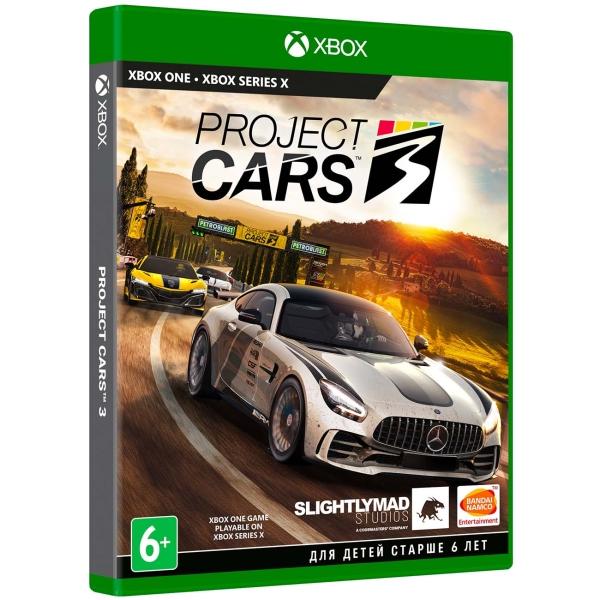 Xbox One игра Bandai Namco Project CARS 3