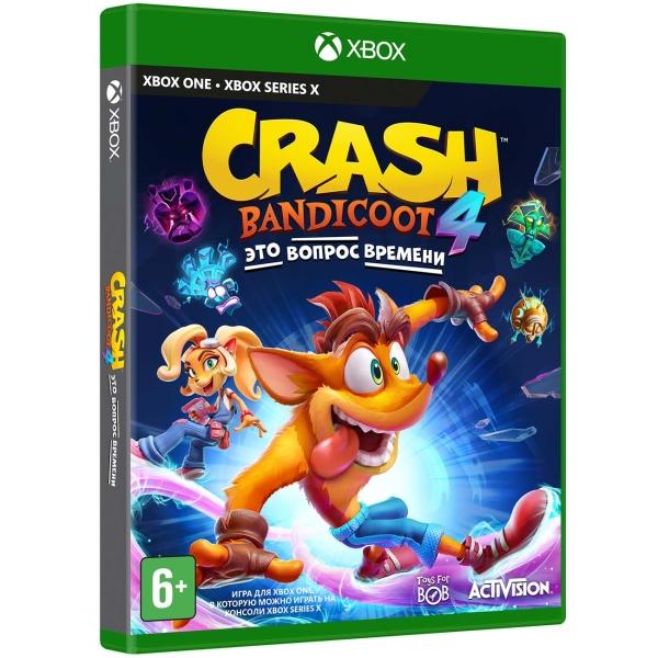 Xbox One игра Activision Crash Bandicoot 4: Это Вопрос Времени