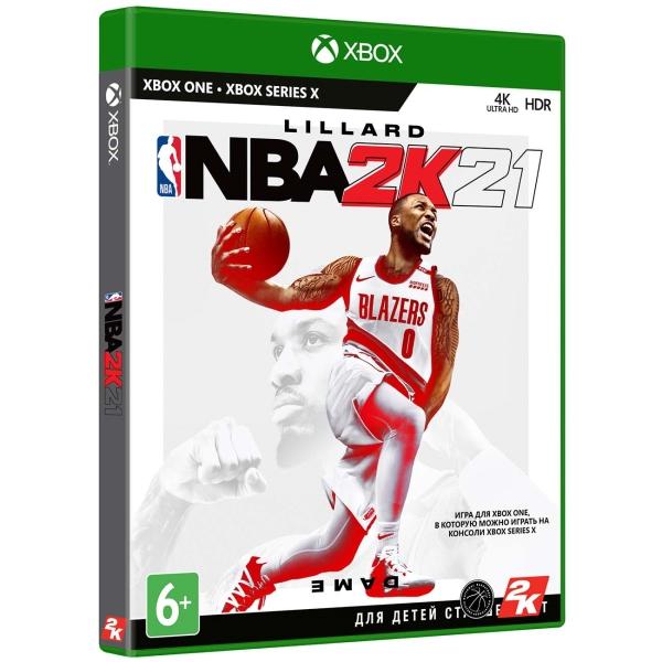 Xbox One игра Take-Two NBA 2K21