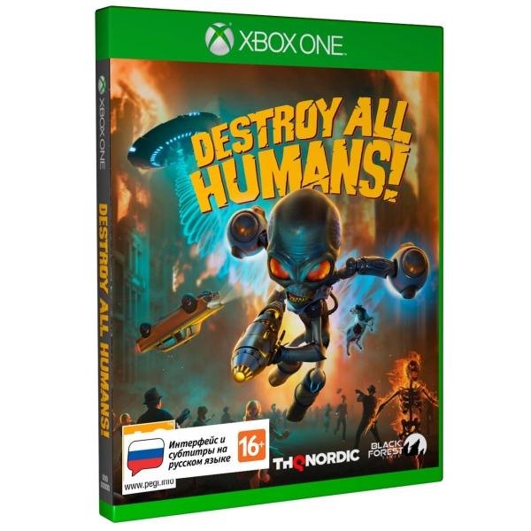 Xbox One игра THQ Nordic Destroy All Humans! Стандартное издание