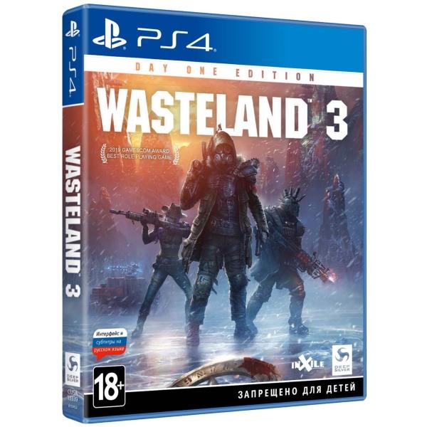 PS4 игра Deep Silver Wasteland 3. Издание первого дня