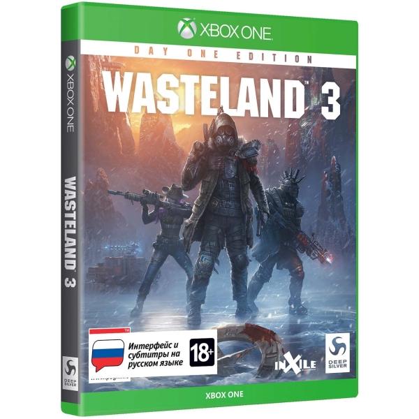 Xbox One игра Deep Silver Wasteland 3. Издание первого дня