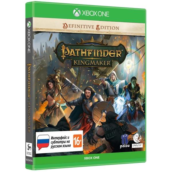 Xbox One игра Deep Silver Pathfinder: Kingmaker. Definitive Edition СИ
