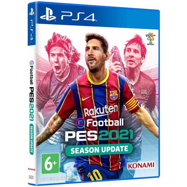 PS4 игра Konami eFootball PES 2021 Season Update