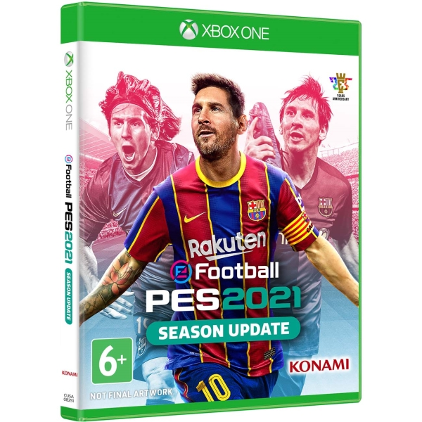 Xbox One игра Konami eFootball PES 2021 Season Update