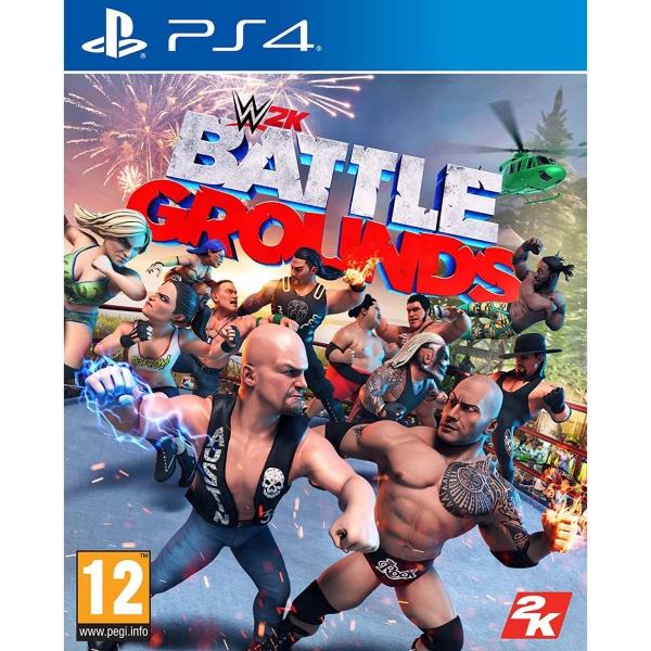 PS4 игра Take-Two WWE 2K Battlegrounds