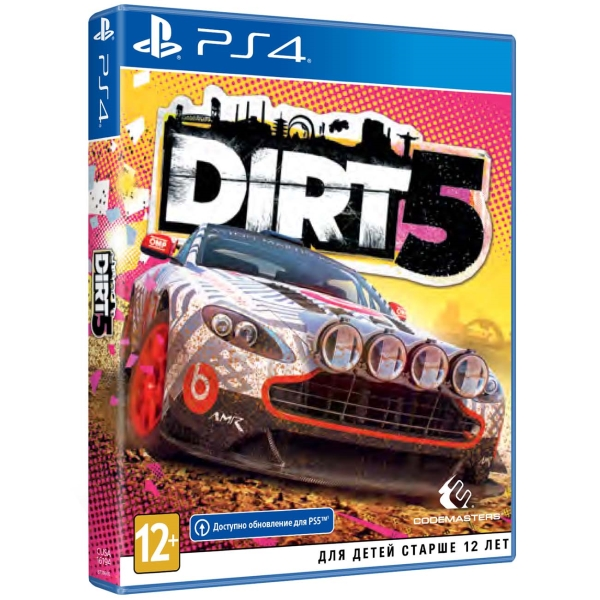 PS4 игра Codemasters Dirt 5. Стандартное издание
