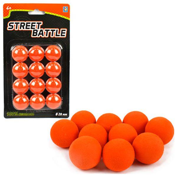 Мягкие шарики 1toy Т13649 (12 шт)