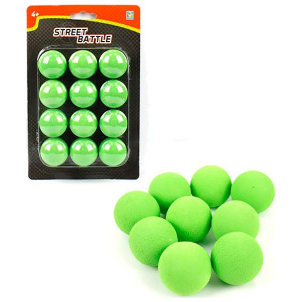 Мягкие шарики 1toy Т13650  ( 12 шт)
