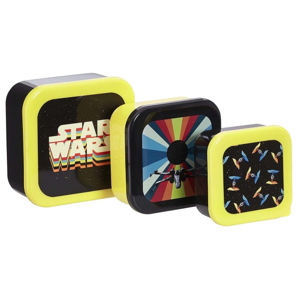 бомбер printio star wars deaign Набор контейнеров Funko 3шт. Star Wars Retro