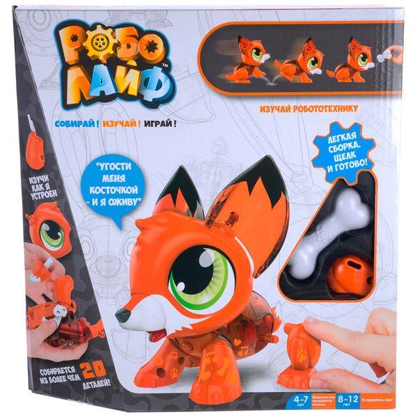 Интерактивная игрушка 1toy Т16229 РобоЛайф: Лисенок (модель для сборки)
