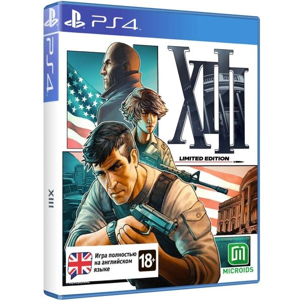 PS4 игра Microids XIII. Лимитированное издание