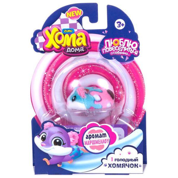 Интерактивная игрушка 1toy Т16277 Хома Дома: 1 хомячок с ароматом маршмеллоу