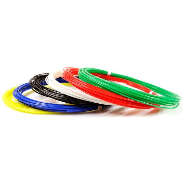 Пластик для 3D ручки UNID PLA-6 (6 цветов по 10м)