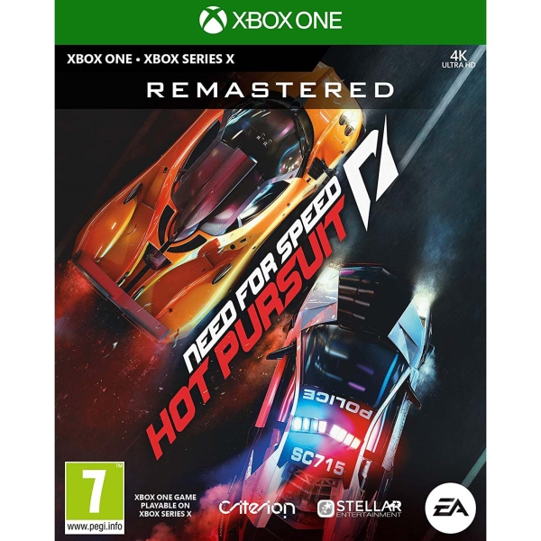 Xbox One игра EA Need for Speed: Hot Pursuit Remastered